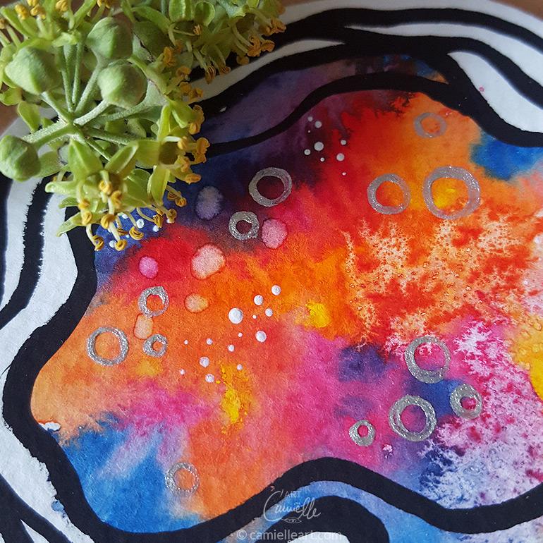 Youniverse, Ruth Krijah, magische kleine Kunstwerke für mehr Glücksgefühle im Alltag